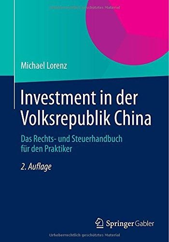 Book Investment China