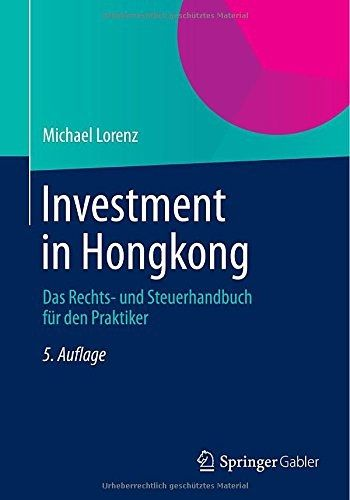 Book Investment Hongkong