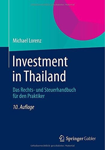 Book Investment Thailand