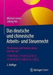 The German and Chinese Labour and Tax Law